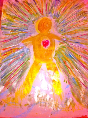 Divine Man in his light...Jan Cercone at Soundandlighthealingarts.com