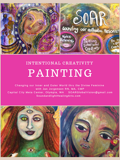 learn how to express your inner world thru paint.