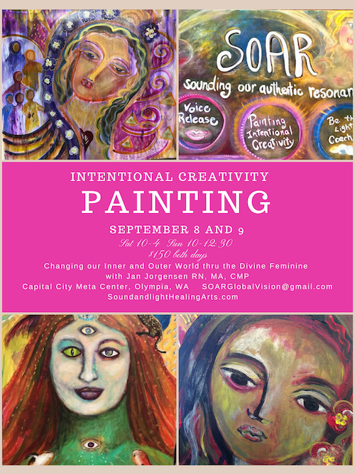 Painting Workshop Sept 7 and 8 with Jan Jorgensen
