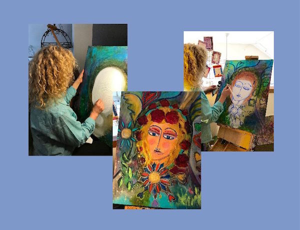 The Intentional Creativity process of painting
