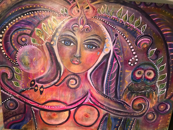 "Legendary Woman 30x40"" not for sale"